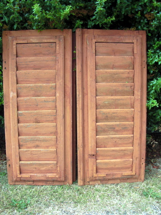 Picture of Pair of Hungarian shutters