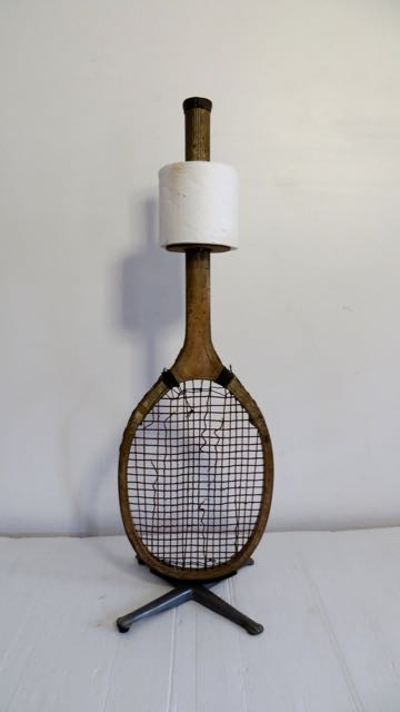 Picture of Tennis racket loo paper holder