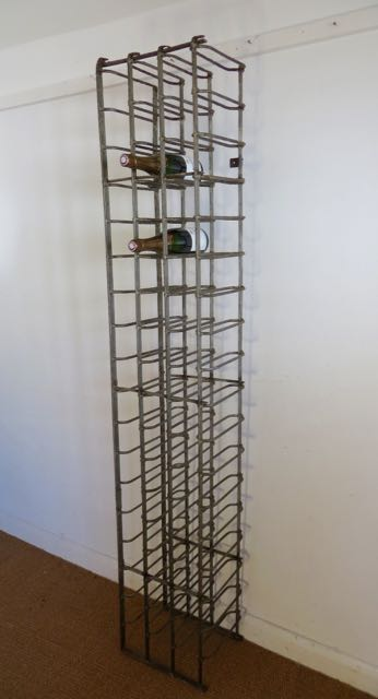 Picture of Old French tall wine rack