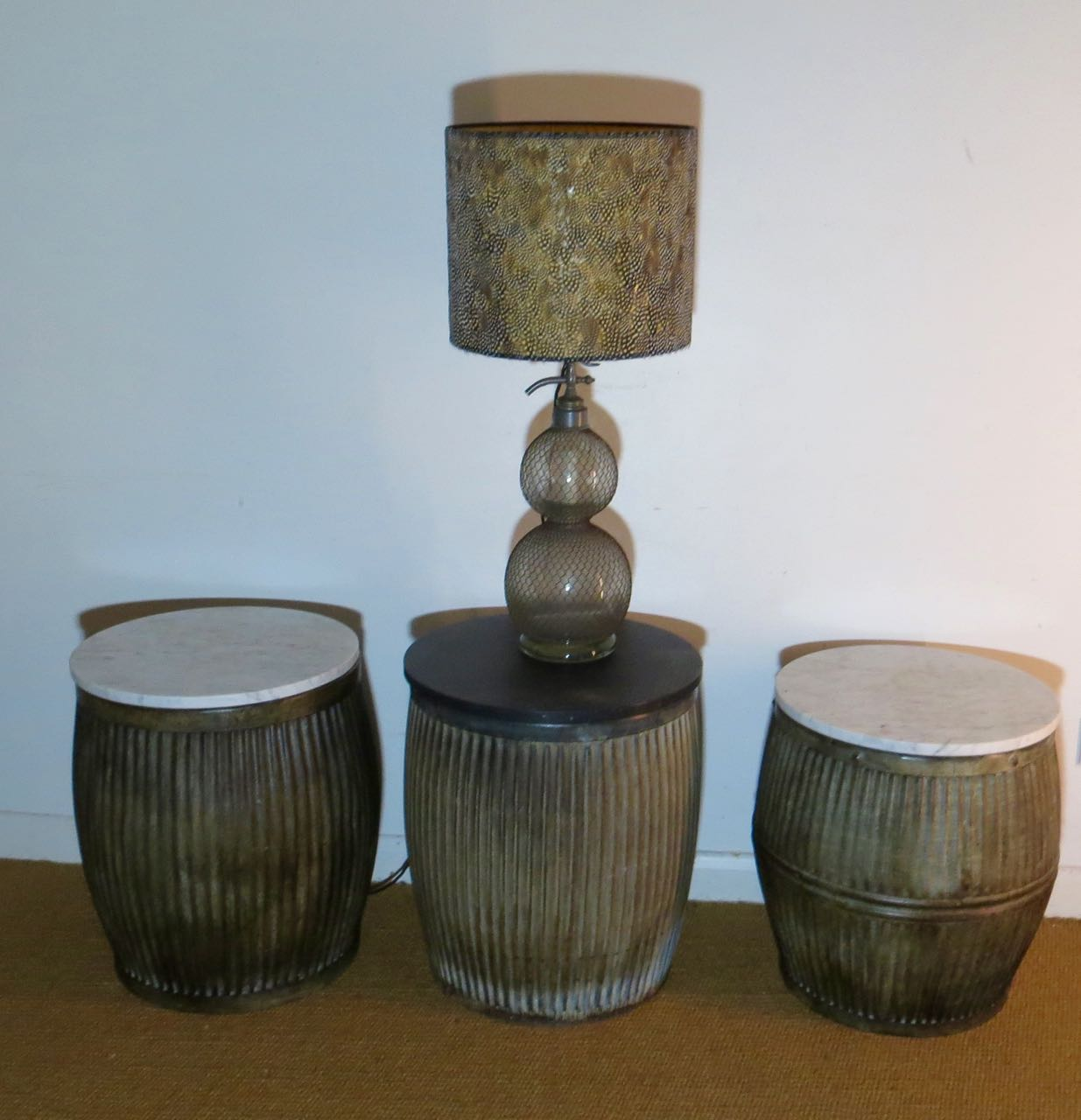 Dolly bin side tables