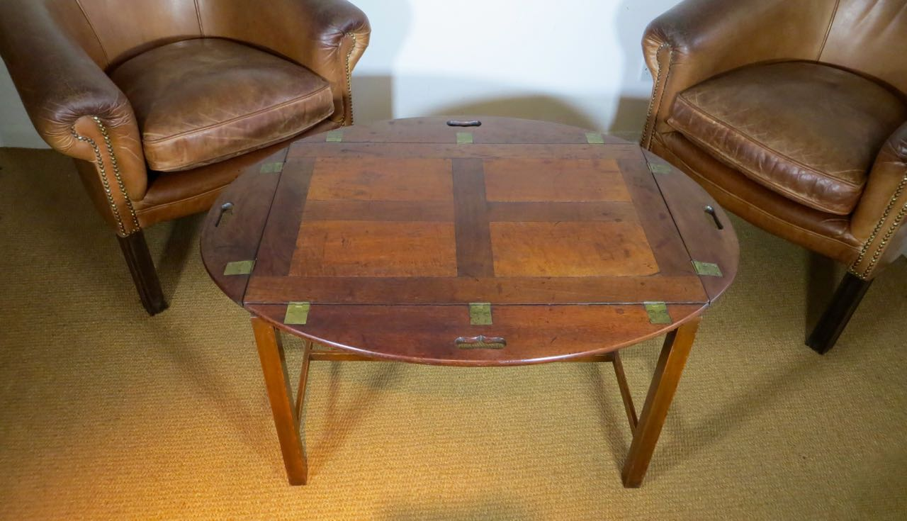 Old butlers tray coffee table