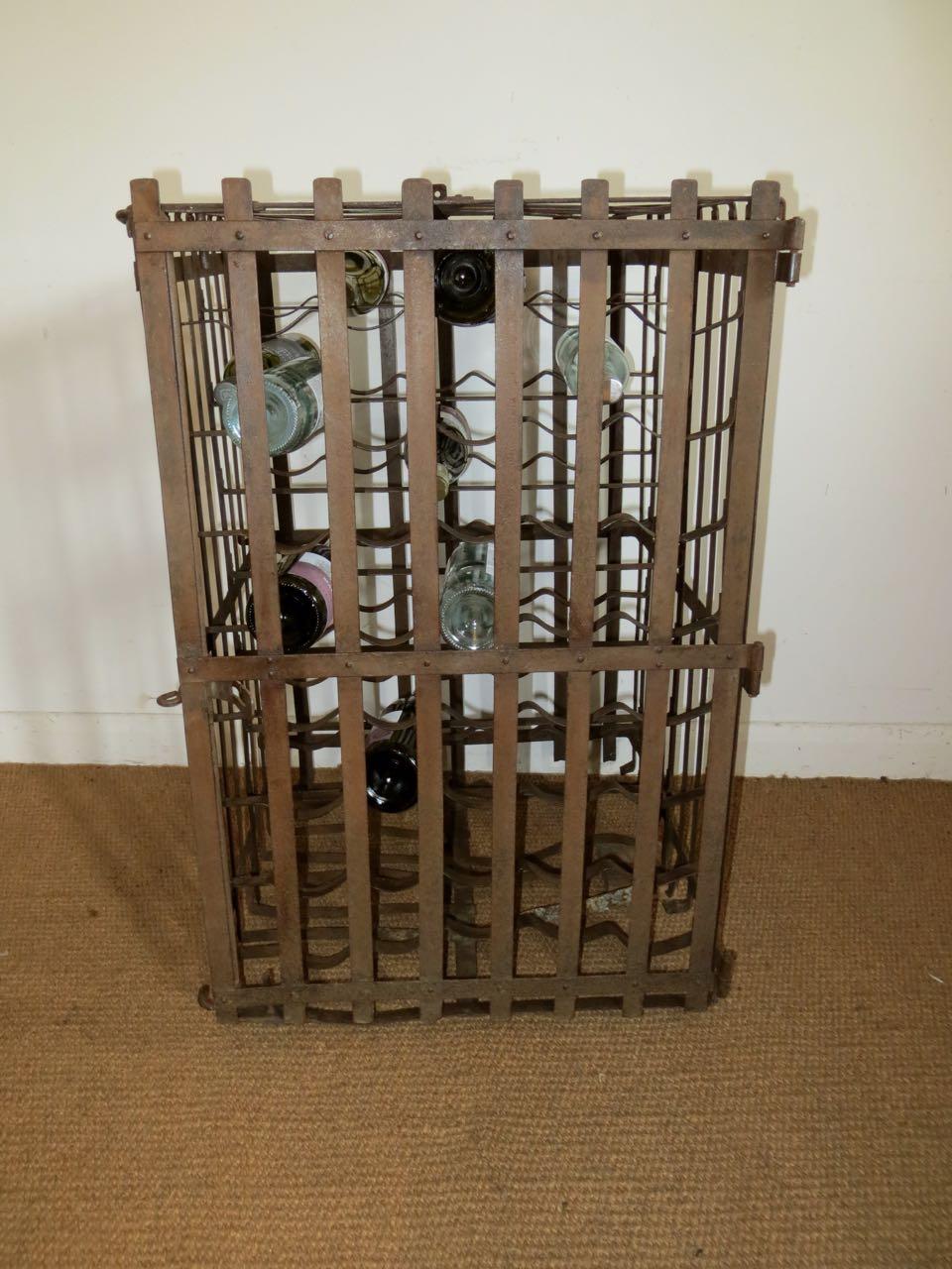 Meta wine rack