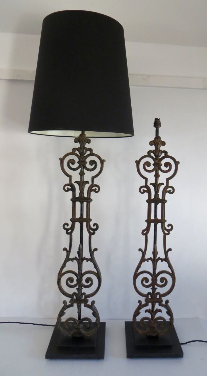 Picture of Par of Balustrade lamps