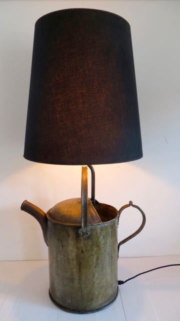 Picture of German watering can lamp