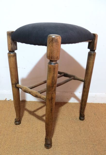 Picture of A Georgian ash stool