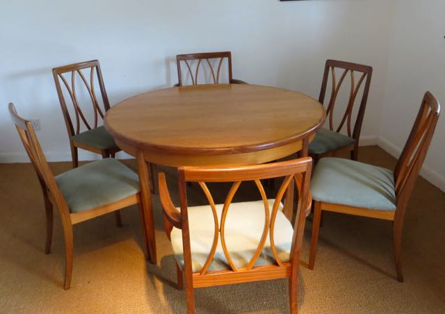 Picture of G Plan table and chairs