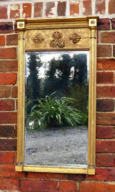 Regency pier mirror