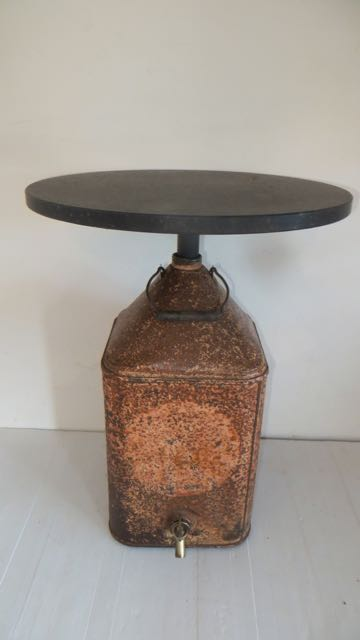Picture of Aladdin Paraffin can lamp table