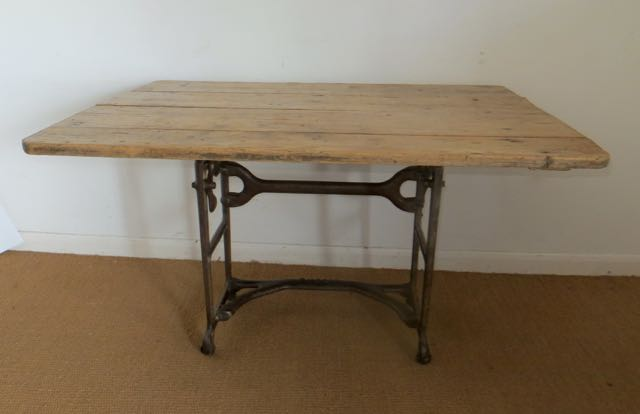 Desk or kitchen rustic table