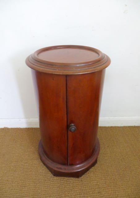 Victorian cylinder pot cupboard