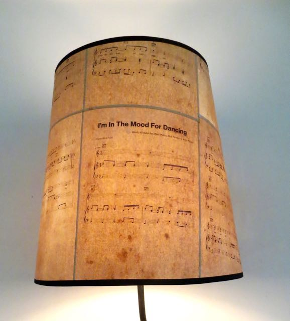 Large cone Music sheet