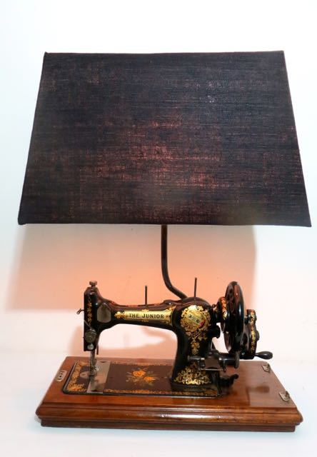 Old sewing machine light