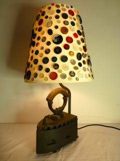 Picture of Old Hot Iron Lamp