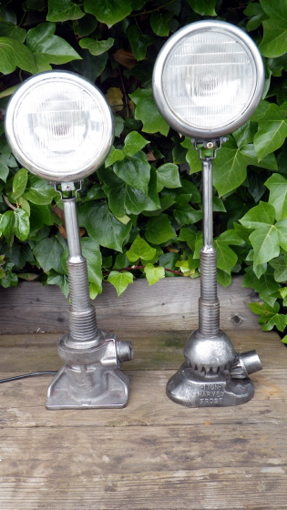 Old Car jack lamps