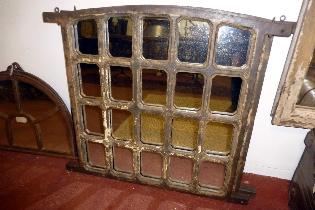 3 Jail window mirrors