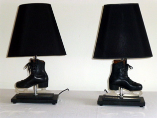 Picture of Pair of childrens ice skate lamps