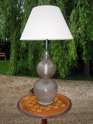 Picture of Large English Soda syphon table lamp
