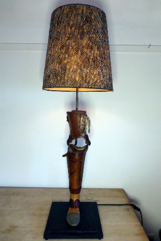 Picture of Prosthetic leg lamp