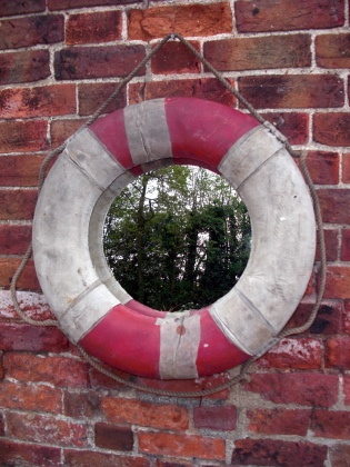 Picture of Old ships life ring