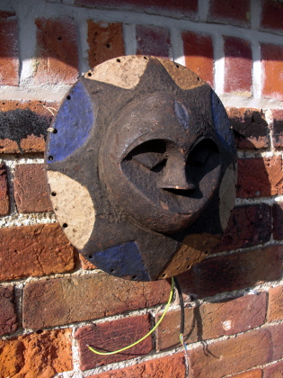 Picture of African Mask Wall Light