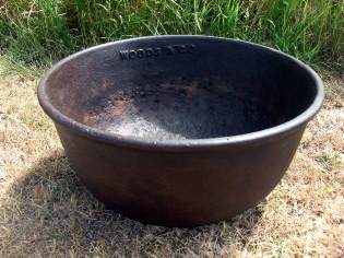 Metal Bowl by Woods