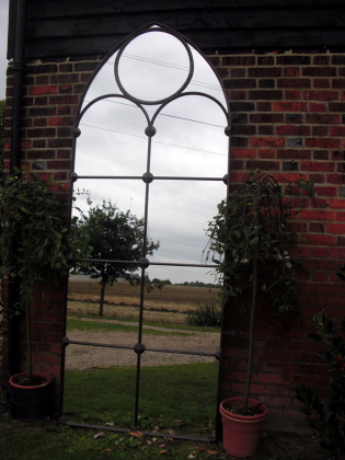 Picture of Victorian long window mirror