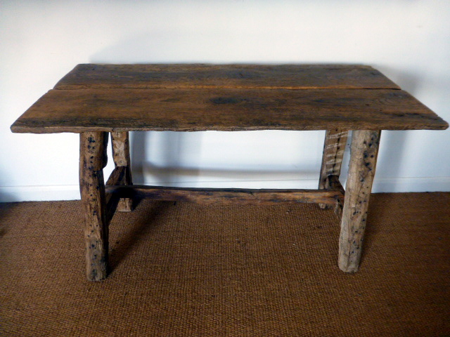 Picture of Rustic oak table