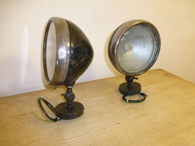 Picture of Pair of headlamps
