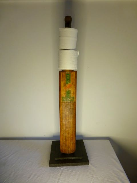 Picture of Cricket bat loo roll holder