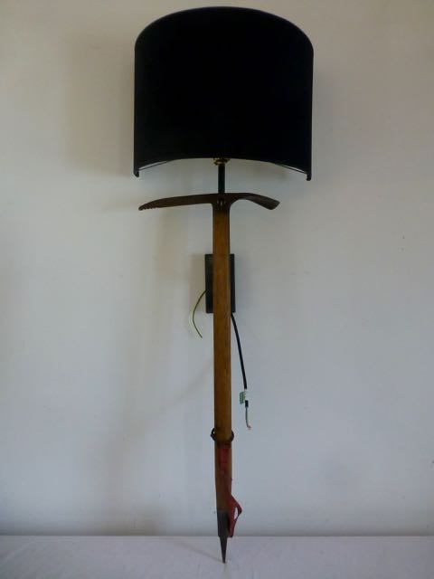 Picture of Ice climbing axe wall sconce
