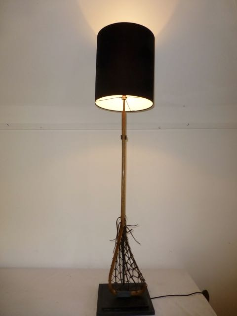 Picture of Lacrosse stick lamp