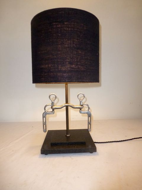 Picture of Horses bit table lamp