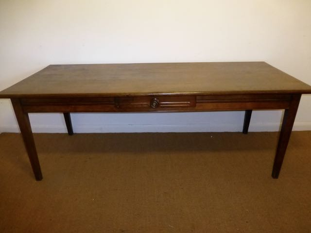 Picture of French farm house oak table