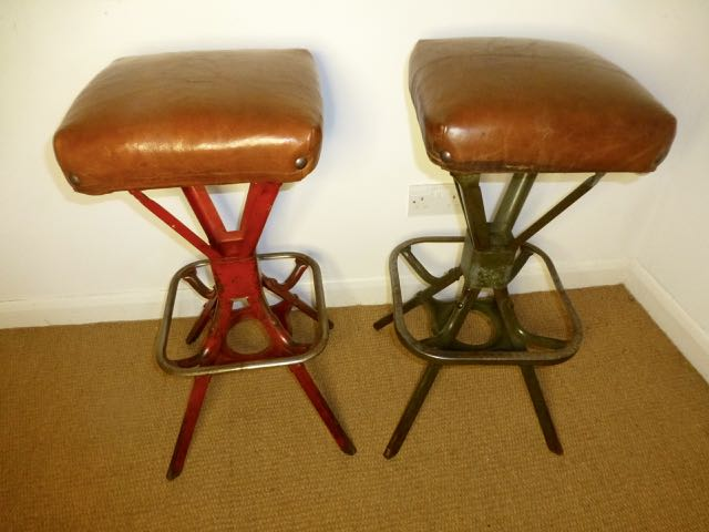Picture of Pair of Industrial work stools
