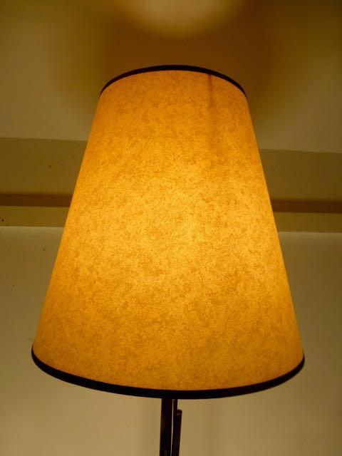 Parchment paper lamp shades
