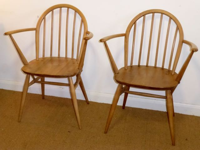 Picture of Pair of Ercol chairs