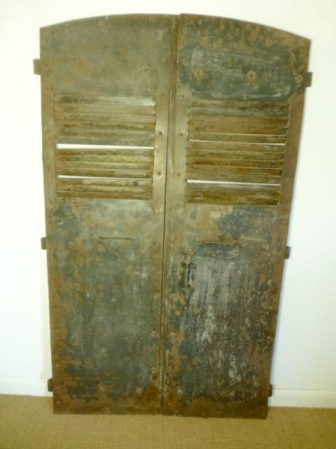 Picture of Old iron shutters