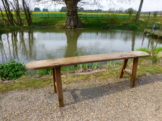 Picture of French oak bench