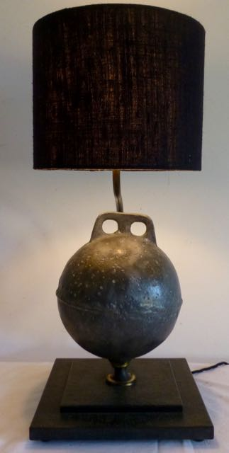 Old buoy lamp