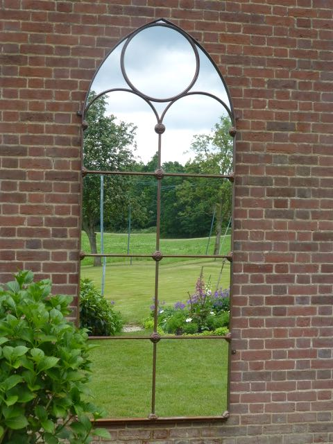 Picture of Beautiful Victorian window mirror