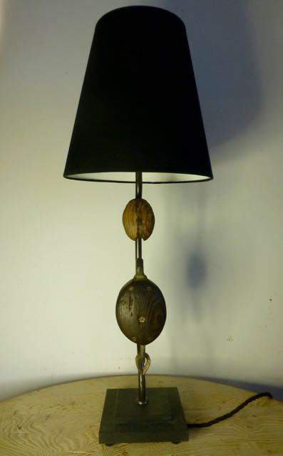 Picture of Twin block table lamp
