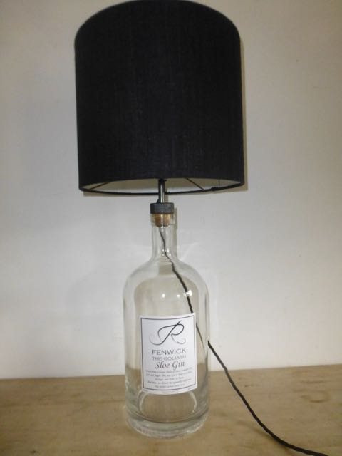 Picture of Slow gin bottle lamp