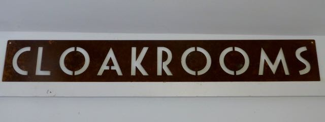Picture of Cloakroom sign