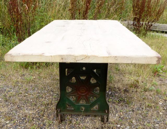 Picture of Mangle base with oak top
