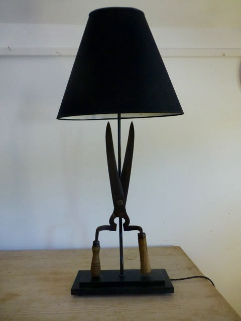 Picture of old Shears table lamp