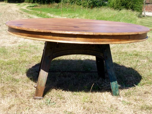 Bamfords milling table round top