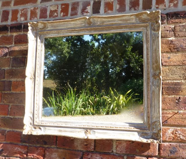 Picture of Old picture frame mirror