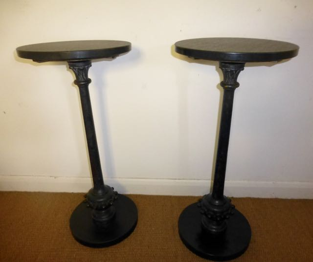 Picture of Pair of Post tables