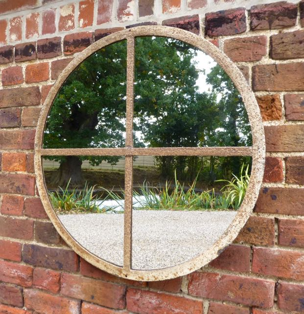 Picture of Round window mirror