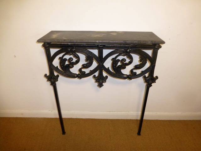 Old railing Console